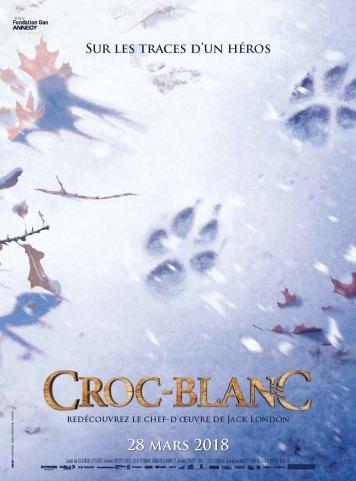 « Croc-Blanc », de Alexandre Espigares, sortie le 28 mars 2018, France – USA – Luxembourg, 1h20, Wild Bunch Distribution