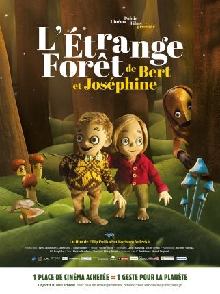 « L'étrange forêt de Bert et Joséphine », de Filip Pošivac, Bára Valecka, sortie le 14 février 2018, République Tchèque, 45 minutes, Cinéma Public Film (CPF)