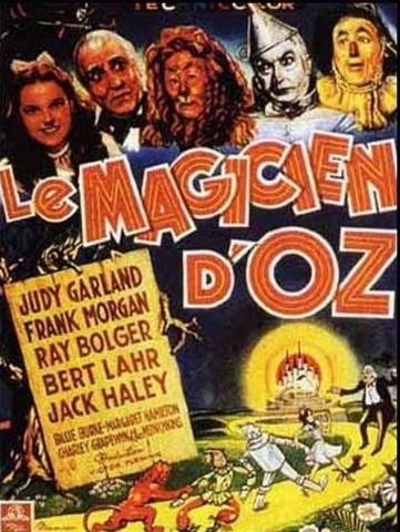 « Le Magicien d'Oz », de Victor Fleming, sortie le 26 juin 1946, USA, 1h41, Warner Bros